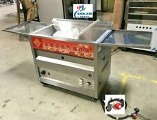 New 40l Propane Deep Fryer With Thermostat Or Natural Gas Wide Bin Basket