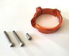 KTM XC SX XCW EXC TPI 250 300 17-20 ANODISED EXHAUST FLANGE GUARD PROTECTOR