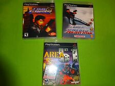 EMPTY REPLACE CASES! Time Crisis 1 2 Project Titan + Area 51 Playstation 1 PS1