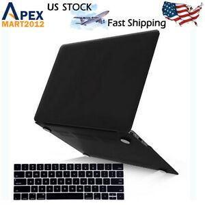 Rubberized Case Shell Cover + Keyboard Protector for MacBook Air Pro 13 Inch M1