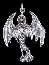 Silber Anhänger - Death Angel Todesengel - 925er Sterling Silber