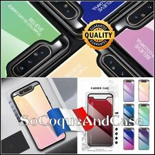 Etui Coque housse Gradient Glass TPU / PC Hybrid Case Samsung Galaxy A80, A90