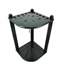 Brand New Pool Table Accessories Deluxe Corner Cue Stand Black