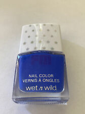 Wet N' Wild Nail Polish color blue Stay Hydrated Not Tested On Animals