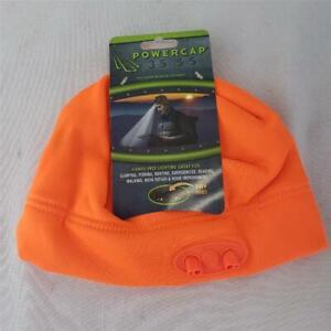 = Panther Powercap 3555 Hands Free Lighting Cap 48 Lumens Universal Fit Orange