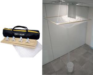 Abdeckung für Reinigung Service Deckenklimaanlage Klimagerät Split Lufterhitzer