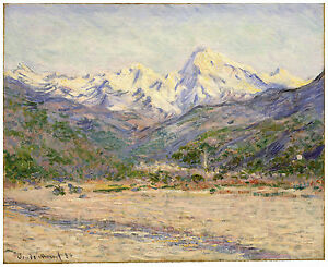 "Impressionism ""The Valley of the Nervia"" Claude Monet ca. 1884"