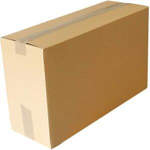 "22x8x13"" Cardboard Boxes Removal Moving Packing Storage Royal Mail Medium Carton"