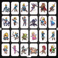 24Pack The Legend of Zelda Breath of the Wild Nfc Mini Amiibo Cards SWITCH WiiU