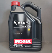 Motul Specific 504 00 507 00 5w30 5l totalmente sintético Aceite de MOTOR PARA