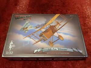 Wingnut Wings 1/32 SE.5a 'Hisso' RARE
