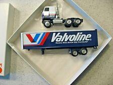 Winross Valvoline Motor Oil Truck and Trailer 1996