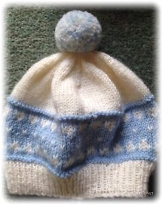 Babys Knitted Beanie
