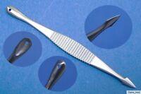 Komedonenquetscher Mitesserentferner Milienmesser extra klein 8,5cm Edelstahl