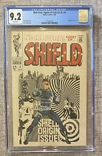 NICK FURY AGENT OF SHIELD #4 (1968) - CGC 9.2 - WHITE PAGES - Jim Steranko