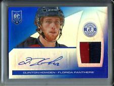 Quinton Howden 13/14 Totally Certified Autograph Game Used Jersey Patch #08/10