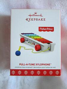 2017 Hallmark Ornament Fisher Price Pull-A-Tune Xylophone NIB