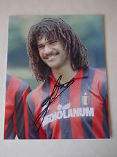Signed Ruud Gullit AC Milan FC 10x8 Photo