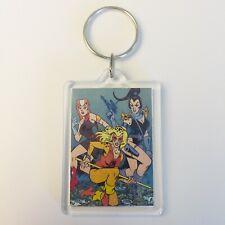 PUMYRA CHEETARA Vintage Thundercats Comic Poster Key Ring Chain Keyring