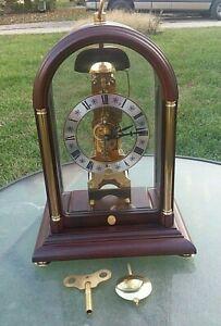 Hermle Skeleton Clock