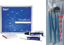 TEMP BOND & TEMPBOND Kerr cemento dentale x provvisori, ponti, corone, capsule