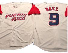 Clemente Francisco Lindo Javier Baez Yadier Molina Puerto Rico Baseball Jerseys