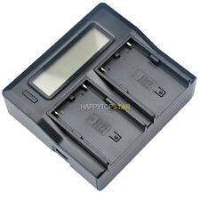 Digital LCD Quick Dual Charger for Sony SONY BP-U30 U60 U90 Battery BC-U1 PMW-EX