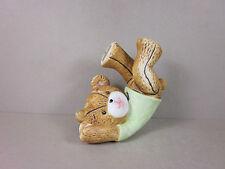 Vintage Collectible Ceramic Miniature Teddy Bear Figurine