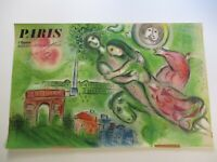 RARE CHAGALL POSTER OPERA LARGE 39 INCHES MOURLOT PARIS MODERNISM ABSTRACT