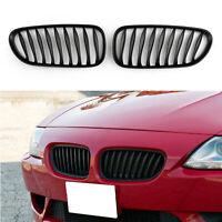 Front Bumper Sport Kidney Grille Parrilla de calandre Pour BMW Z4 E85 E86 08 M ,