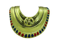 Adult King Tut Egyptian Collar Pharaoh Chest Piece Halloween Costume Accessory