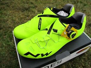 Northwave Extreme GT EU44 Road cycling shoes Flu Yellow SPD-SL Speedplay