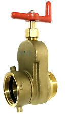 "2-1/2"" HYDRANT GATE VALVE Female Swivel NST x  Male NST Rated 175 PSI Water"