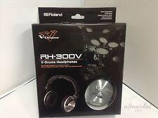 Roland RH-300V V-Drums Headphones from JAPAN SPEED POST NEW