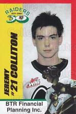 2001-02 Prince Albert Raiders #3 Jeremy Colliton