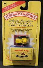 MATCHBOX 1993 Original Recreations BULLDOZER Long Card