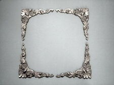 MIRROR FRAME PICTURE FRAME CORNER MOULDINGS colour black FOUR