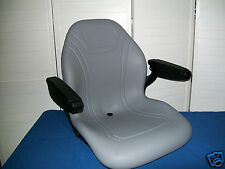 NEW GRAY SEAT FOR CASE IH COMPACT TRACTORS DX25,DX26,DX29,DX35, DX40, DX45 #LP