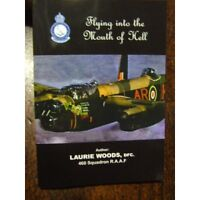 460 Sqn RAAF WW2 Flying Mouth of Hell Signed by Veteran DFC LgH. Bomber Command