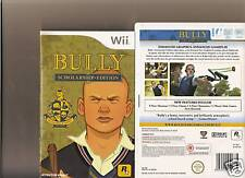 BULLY SCHOLARSHIP EDITION NINTENDO WII SCHOOL