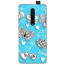 Funda Gel Tpu para Xiaomi Mi 9T / Mi 9T Pro diseño Mariposas Dibujos