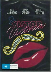 Victor Victoria DVD Julie Andrews James Garner New and Sealed Australia