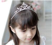 Rhinestone Crystal Tiara Hair Band Cute Girl Bridal Princess Prom Crown Headband