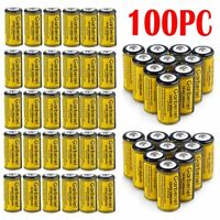 Lot 3.7V Li-Ion CR123A 123A CR123 16340 1800Mah Rechargeable Battery   For Torch