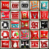 "18"" Christmas Cushion Cover Santa Claus Pattern Square Pillow Case Seat Sofa Car"