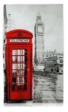 Toalla de té fotográfica Big Ben Londres Rojo Autobús Caja De Teléfono Recuerdo Regalo