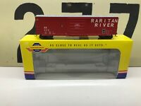 Athearn Genesis HO Raritan River 50' Sieco Boxcar RD #458 RTR New Old Stock