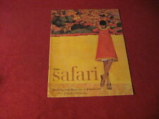 1965 Pontiac Safari Magazine Sales Brochure Catalog Old Booklet Book Original