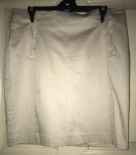 PORTMANS Beige Bow Skirt Size 14