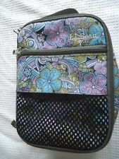 L L Bean Insulated Lunch Bag - Keeps Food & Drinks Hot Or Cold Very Good Condit